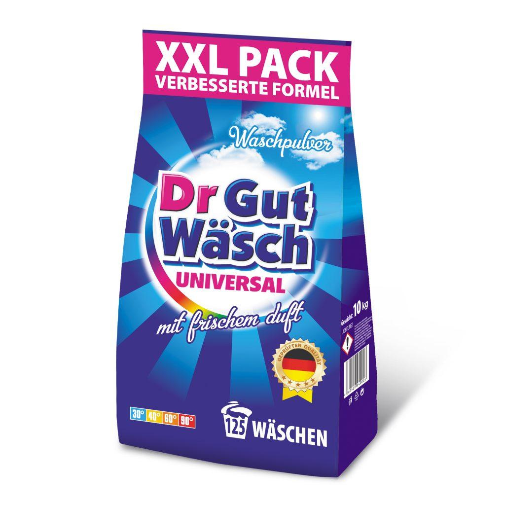 Waschmittel Pulver dr GutWasch 10 kg