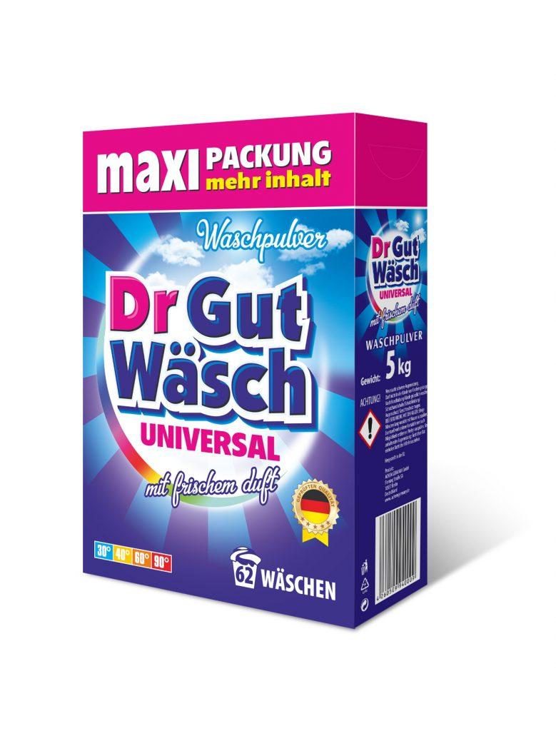 Waschmittel Pulver dr GutWasch 5 kg